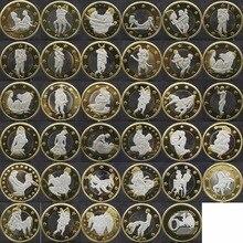 34 шт. секс 6 евро монеты разных Дизайн Кама сутра положение жесткий памятной