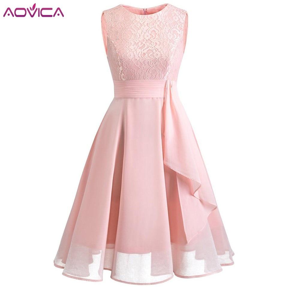 Aovica Fashion Womens Elegant Long Summer Dress Vestidos De