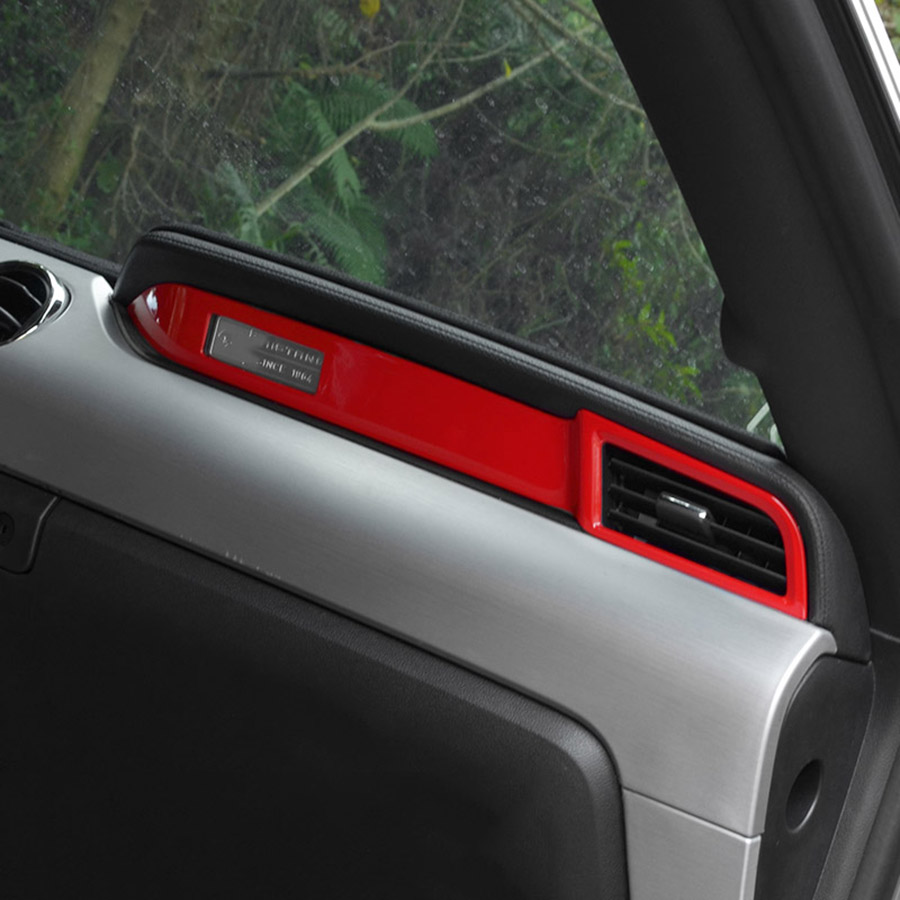 Chrome dashboard molding trim for ford mustang 2015 2016 2017 car interior accessories china