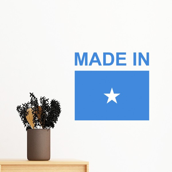 Somalia Afrika Selatan Spanyol Sri Lanka Swedia Negara Dibuat Di Flag Removable Wall Sticker Art Decals Mural Diy Wallpaper Untuk Ruang Wall Stickers Aliexpress