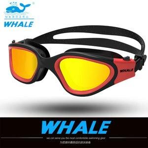 Image 5 - Water Glasses Professional Swimming Goggles Adults Waterproof Swim Uv Anti Fog Adjustable Glasses Oculos Espelhado Pool Glasses