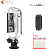 Tekcam Waterproof Housing Case For Insta360 One Water resistance Full Cover Protective Shell for Insta 360 One VR Sport Camera