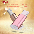Pzoz usb Cable Mini Micro USB Male to Type-C Adapter Phone Cable for huawei Xiaomi5 4s 4c usb c otg usb type-c adattatore tipo c
