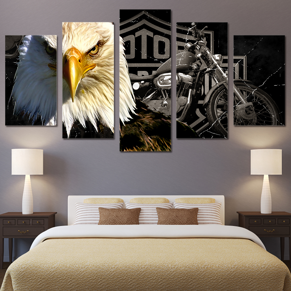 High Quality Eagle Decorations Promotion Shop For High Quality Living Room Paintings