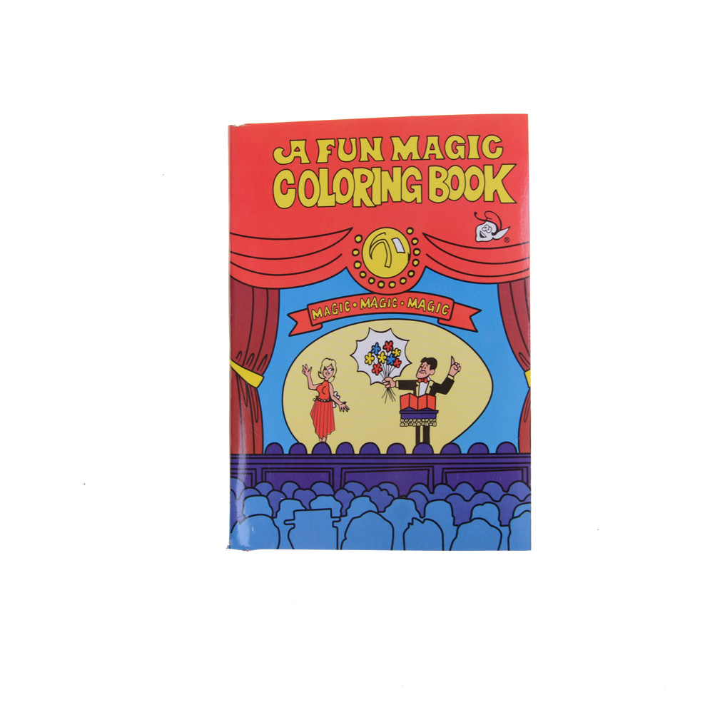 2018 Magic Coloring Book Magic Tricks Best For Children Stage Magic