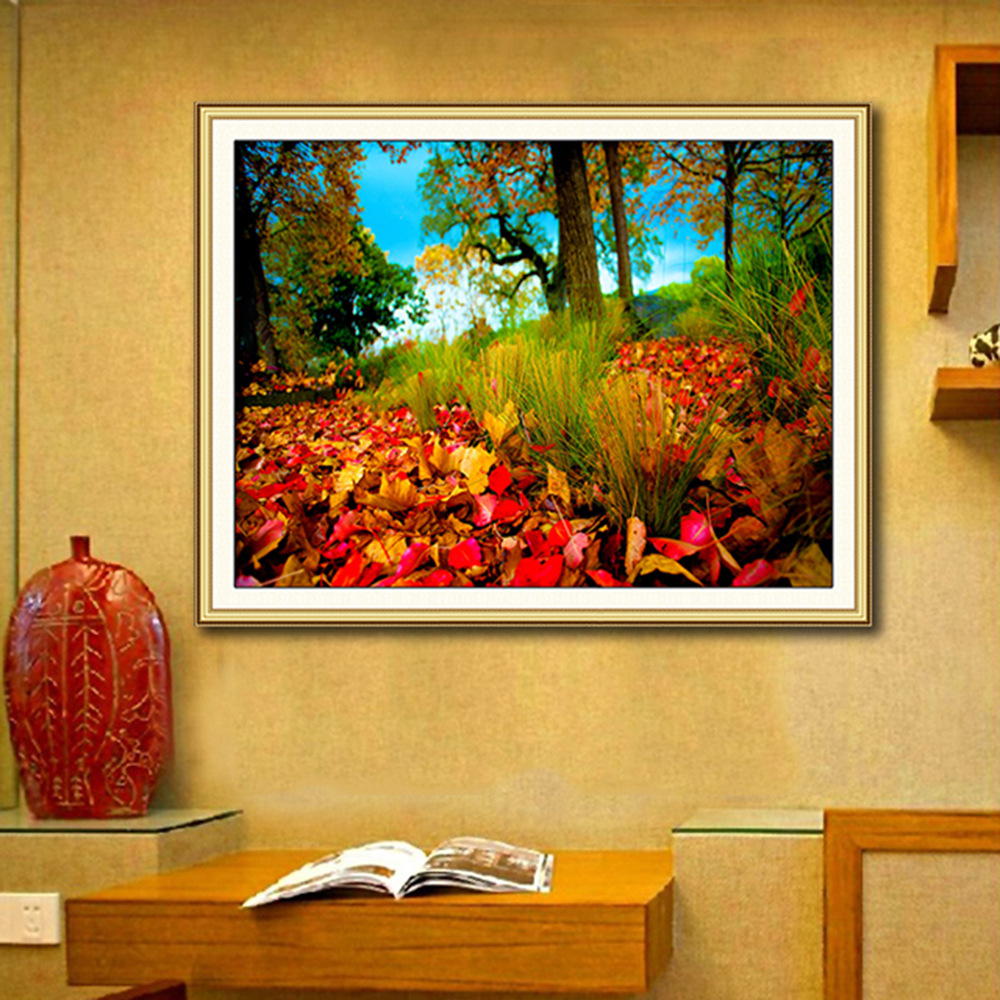 ⑥Diamond Embroidery Forest New 5D Diamond Painting Cross Stitch ...