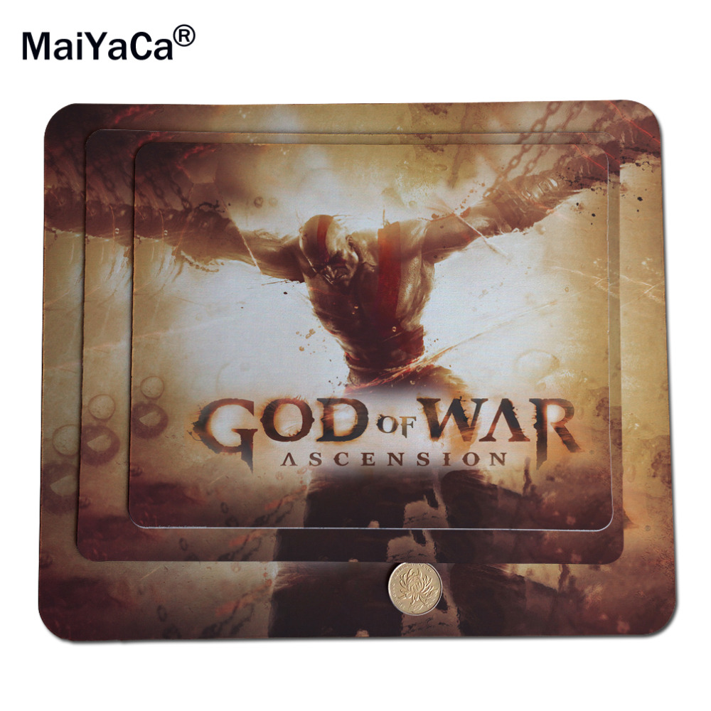 God Of War Ascension Mouse pad personalized custom trumpet game cute cartoon creative custom advertising lol thickening laptop