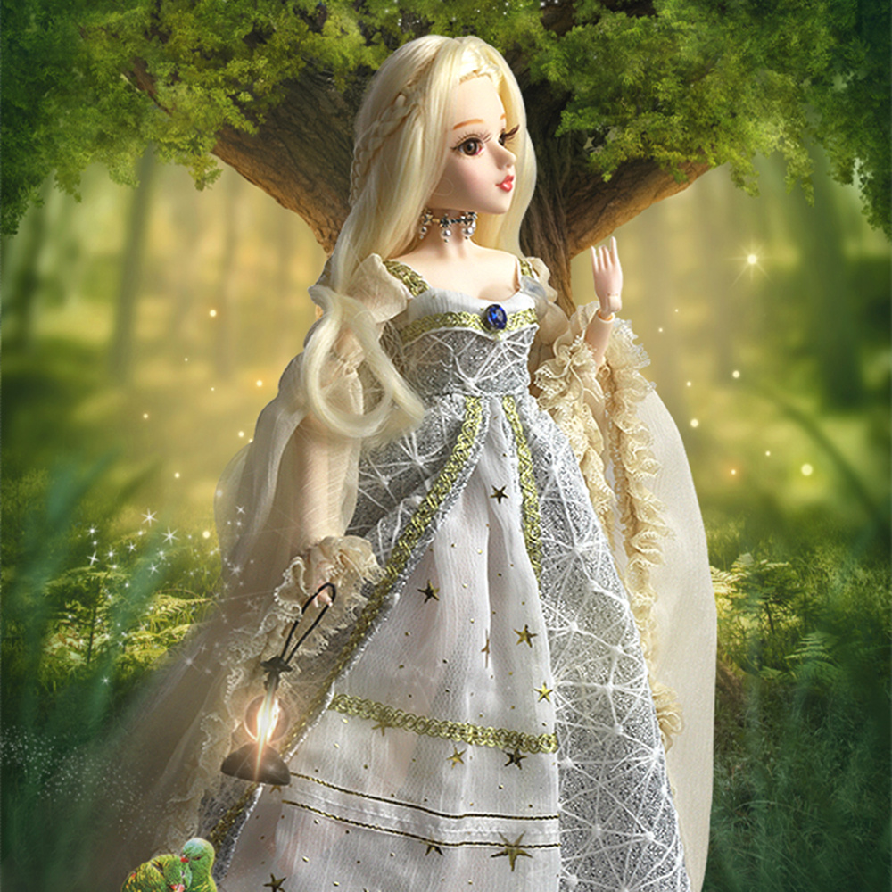 Dream Fairy MMG BJD doll Tarot series The Hermit with clothes shoes legging mask stand 14