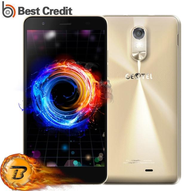 Original Geotel Note Mobile Phone 5.5 Inch HD 3GB RAM 16GB ROM MTK6737 Quad Core 13MP Dual Sim 3200mAh 4G FDD-LTE Smartphone