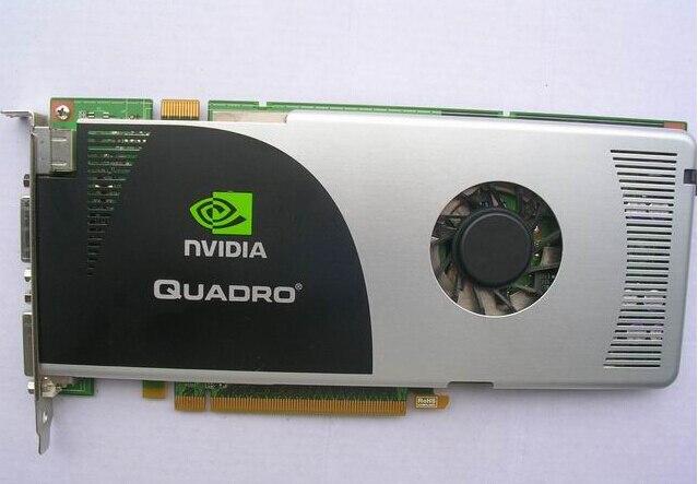 Quadro FX3700 512 m graphique PCIE conception carte graphique professionnelle