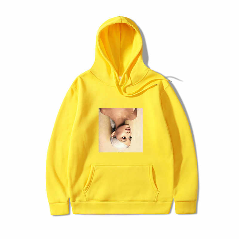 2019 tommy hoodies 카와이 아리아나 그란데 프린트 스웨트 긴팔 여성/남성 의류 핫 세일 캐주얼 kpop 스웨트 까마귀
