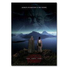 The Last Jedi Art Silk Or Canvas Poster