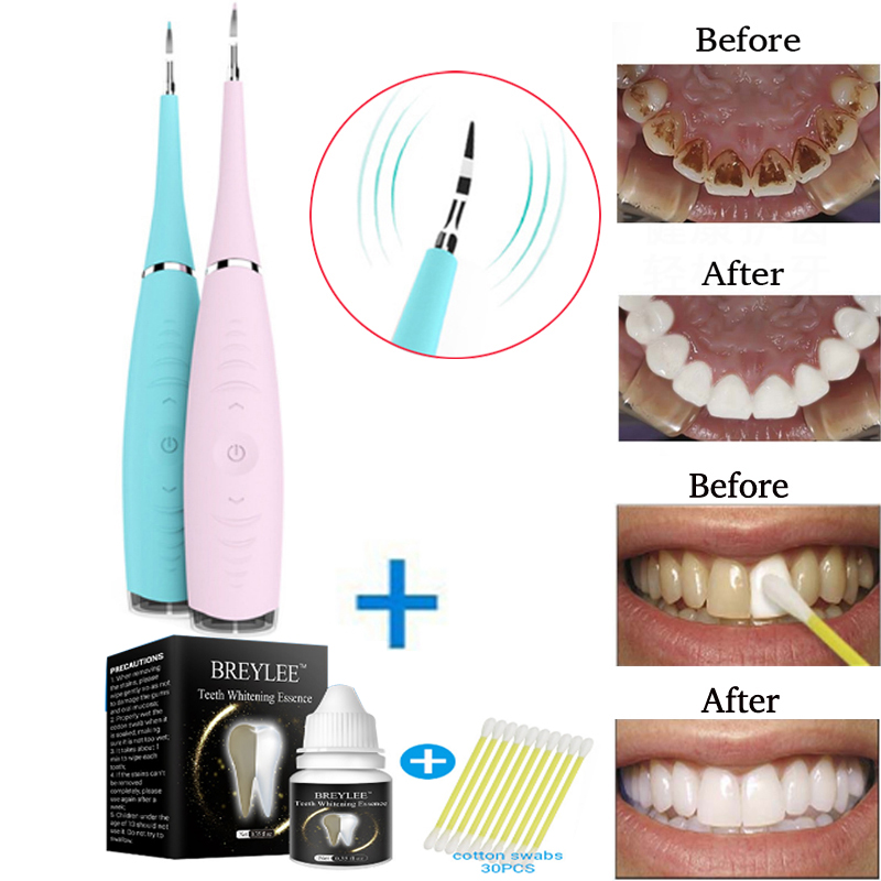 купить Portable Electric Sonic Dental Scaler Tooth Calculus Remover Tooth Stains Tartar Tool Toothwash Dentist for Beauty Teeth недорого