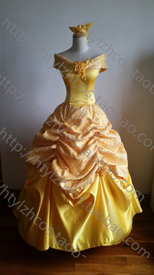 beauty and the beast costume women adult princess belle costume cosplay halloween costumes for women fancy dress fantasy custom