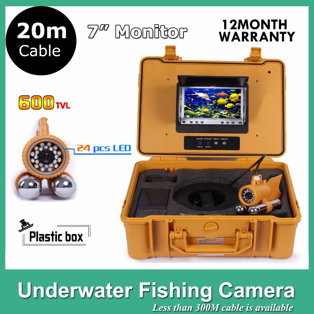 CCTV Video 1/3 CCD 700TVL Underwater Camera For Fishing Fish Finder 7