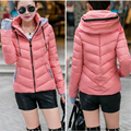 2016 Women Winter Fashion Slim Jacket Hooded Winter Coat For Women Hot Sale Ladies Jacket Clothing