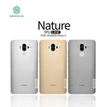 Huawei Mate 9 Case Nillkin Природа Серии Ультра Тонкий Прозрачный Мягкий ТПУ Case для Huawei Mate 9/Ascend Mate 9 Mate9 5.9 дюймов