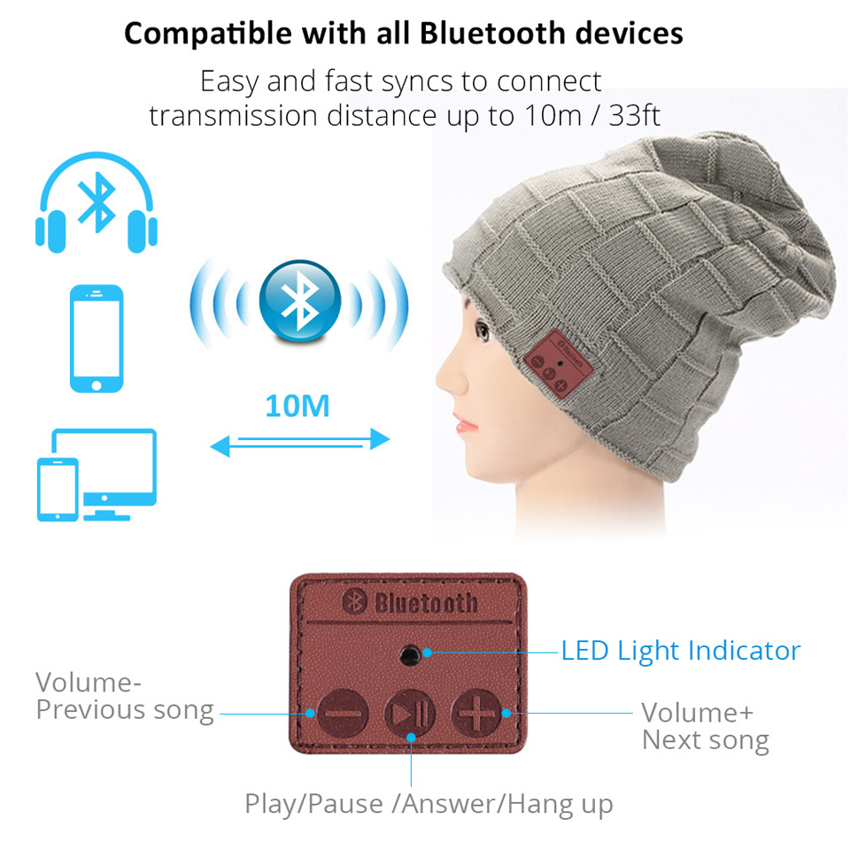 Bonnet Wireless Bluetooth 4.1