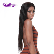 CCollege 360 Lace Frontal Wig With Baby Hair Remy Straight Hair Glueless Brazilian Human Hair 360 Wigs For 12-24 Inch