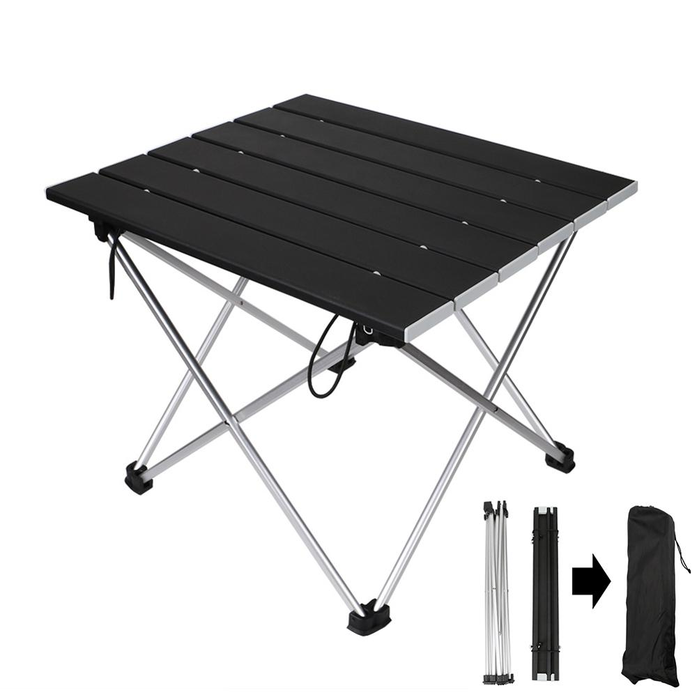 Portable Camping Folding Table Easy Assembly Garden Table Outdoor Furniture Camping Hiking Fishing BBQ Picnic Table With Pouch