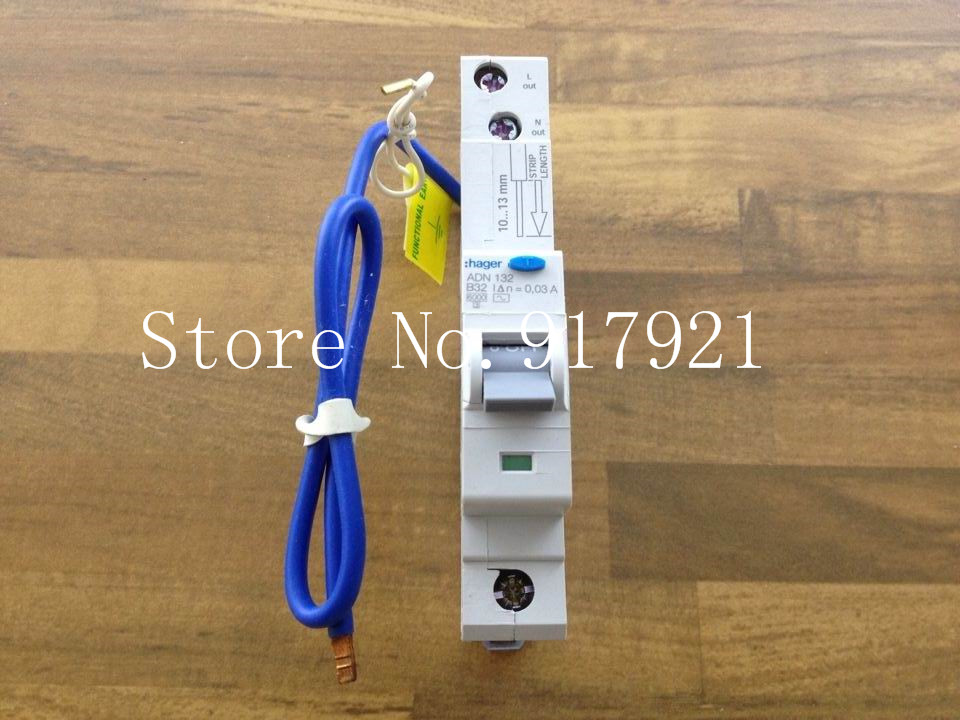 [ZOB] Hagrid ADN132 electric leakage circuit breaker 1P32A 30MA 106364 --5pcs/lot [zob] hagrid mc432p 4p32a miniature circuit breaker c32 to ensure genuine 5pcs lot