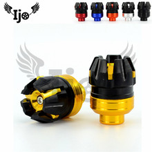цена на CNC racing motocross rear front frame sliders dirt pit bike anti collision Cap part motorcycle falling protection moto crash pad