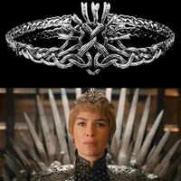 Game of Thrones Cersei Lannister Diadem Stirnbänder Frauen Haarschmuck Hair Cosplay Schmuck Pageant Crown Haarband
