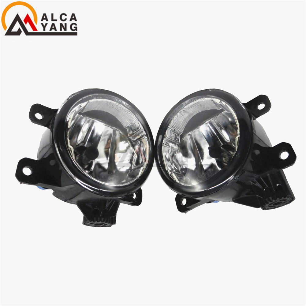 For Mitsubishi OUTLANDER L200 Grandis PAJERO GALANT 2003-2012 Car styling 55W Fog lights General halogen lamps 1set for lexus rx gyl1 ggl15 agl10 450h awd 350 awd 2008 2013 car styling led fog lights high brightness fog lamps 1set