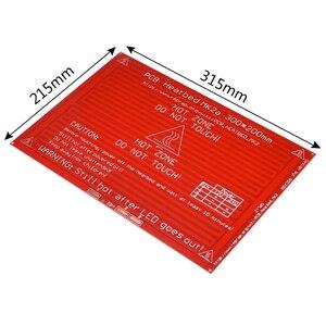 Image 5 - MK2A Heatbed 300*200*2.0 Met Led Weerstand En Kabel Reprap Ramps 1.4 Hot Bed + 100K ohm Ntc 3950 Thermistoren Voor 3D Printer