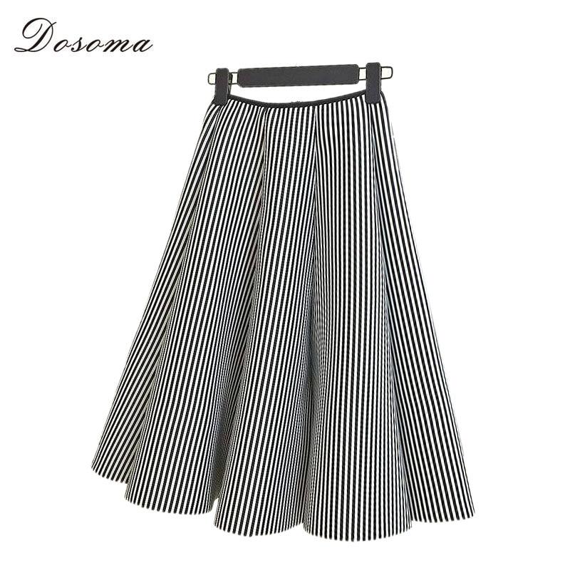 2016 autumn winter vintage maxi skirts black