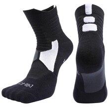 цены на New Professional Cycling Socks Basketball Football Soccer Socks Running Outdoor Hiking Sport Socks Thick Cotton Men Women M L XL в интернет-магазинах