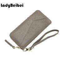 Cute Women Wallets Card Holder Long Leather Wallets And Purses Female Zipper Clutch Coin Purse Money
