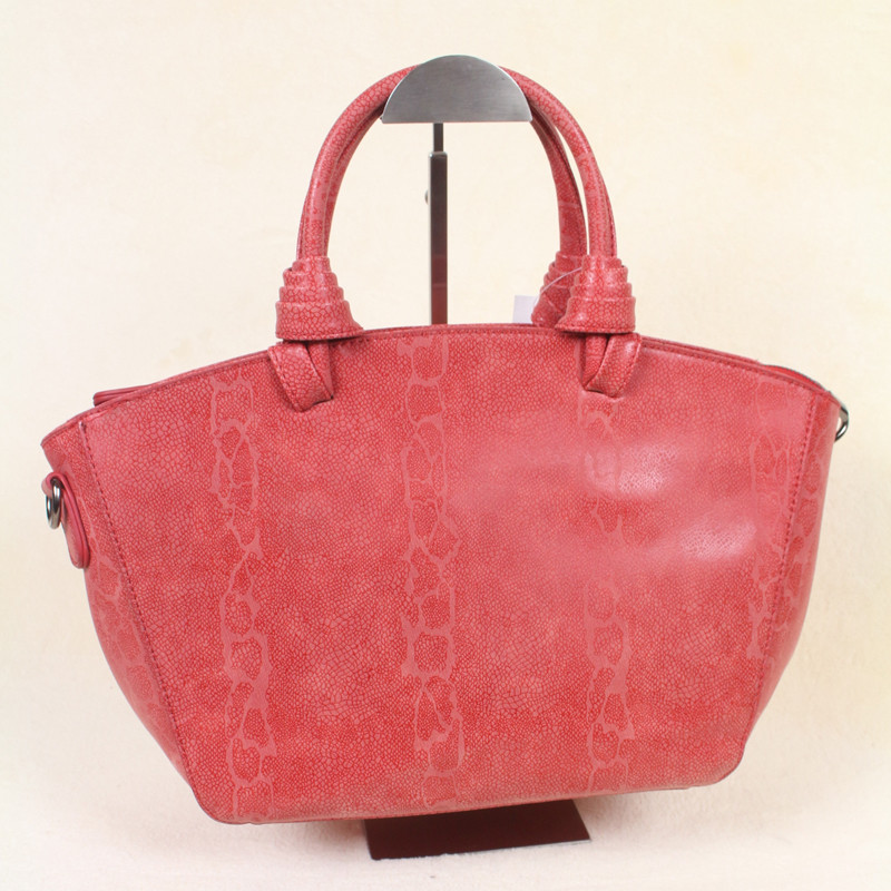 ФОТО 2016 new Serpentine pattern handbags female women shoulder bag good quality real photo free shipping whole sale large bag