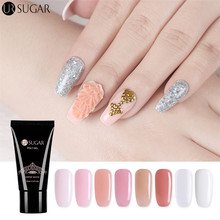 UR Sugar Nails Kit 30ml Uv Gel French Nails Art Manicure Tips Nails Build Extending Crystal Jelly Gum Poly Gel Set