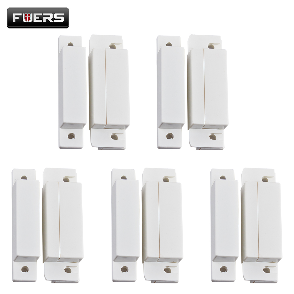 Fuers 5pcs Lot Wired Door Window Magnetic Sensor Switch