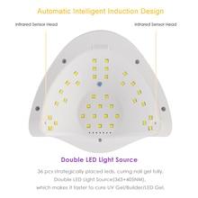 SUN5X Series 80W/48W UV LED Lamp Nail Dryer Dual UV Lamp