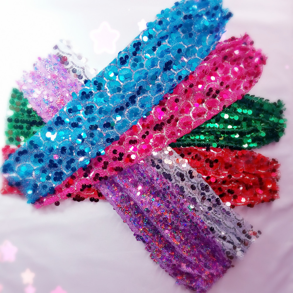 Black silver red blue sexy shining sequins belly latin dancing costume party fingerless long gloves free shipping wholesale
