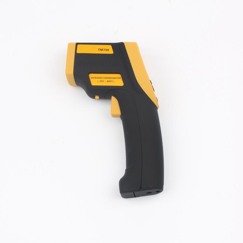Tecman genuine TM750 Handheld infrared thermometer non contact thermometer temperature gun -50C~800C Temperature measurement