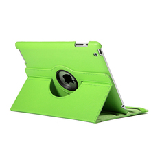 Women's Colorful Leather Tablet Cover without Pattern for iPad