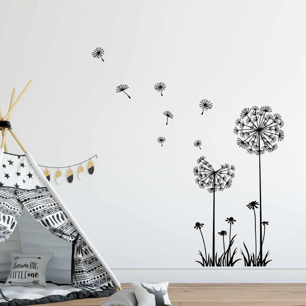 Creative פרחי קיר מדבקת ספה טלוויזיה רקע חדר שינה עיצוב הבית קיר אמנות מדבקות מדבקות טפט HX0710