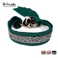 Artilady velvet silver bracelets fashion multicolor zinc alloy bracelet bangles for women boho jewelry party gift