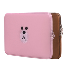 Cute Brown Bear Cartoon Bag11 13 15.6 Inch For Macbook Air P