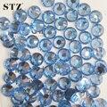 1440 unidades/pacote ( SS3-SS20 ) lt. Vidro de safira cristal de diamante 3d Nail Art strass para Nails Glitter natator DIY NC254