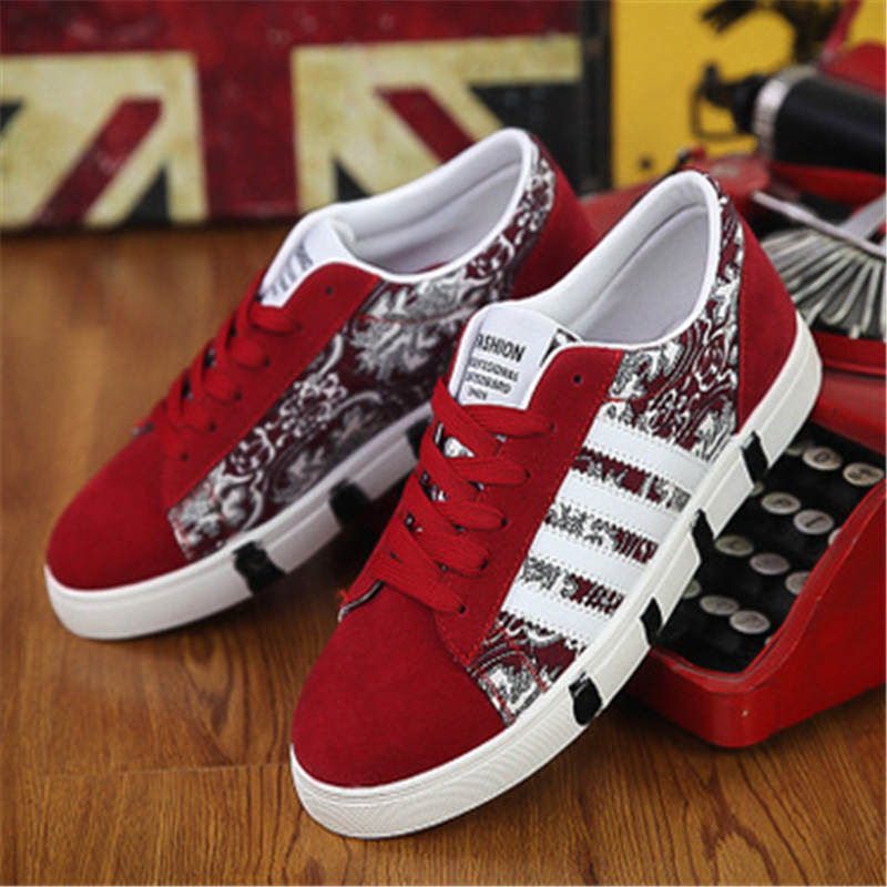 Hot sales men canvas shoes 2016 spring autumn lace up low style fashion mixed colors breathable