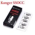 5pcs 100% Original Kanger SSOCC Coils  0.5ohm / 1.2ohm /1.5ohm Vertical Coil fit with Subtank subtank plus  NEBOX SUBVOD