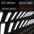 G23 LED bulb 2pin two pin tube light 4W 6W 8W SMD 2835 ac85-265V 110V 220V 230V 240V ce rohs