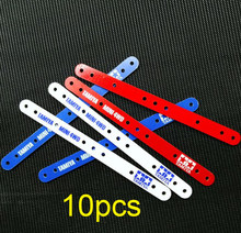 10Pcs FRP Verstevigingsplaat Set 1.5mm Glasvezel Platen 15193/94881 Voor RC Tamiya Mini 4WD Racing Auto Model(China)