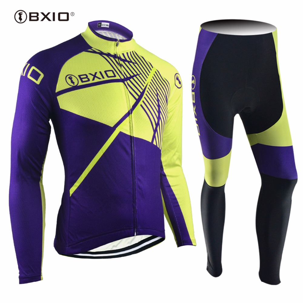 Genuine BXIO Brand Ropa Ciclismo Hombre Not Winter Type Cycling Clothing Long Sleeve Breathable Bicycle Clothing