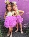 2017 Girls sequins TUTU dress , toddler girl dresses ,Birthday party dress , 5pcs/lot  BB60