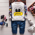 2016 spring new Korean children's clothing fashion 0-1-2-3-4 old boy duck underwater world